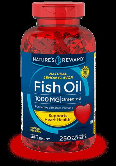 Food supplements nature 39 s reward for Lemon fish oil