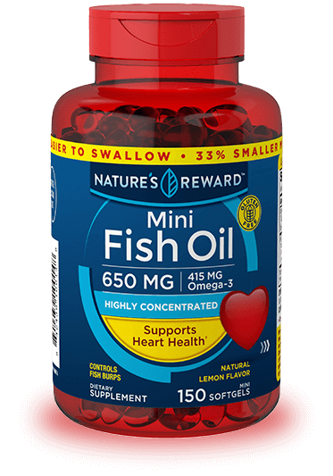 Mini Lemon Flavor Fish Oil