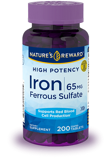 Hight Potency Iron 65 mg