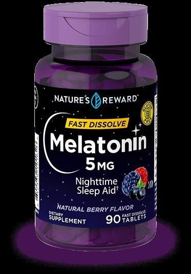 Melatonin 5 mg Fast Dissolve