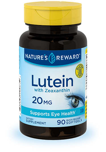 Lutein 20 mg plus Zeaxanthin
