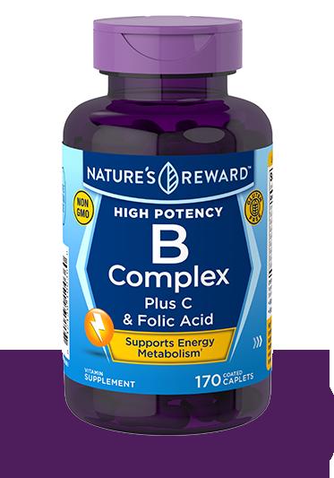 B-Complex plus C and Folic Acid