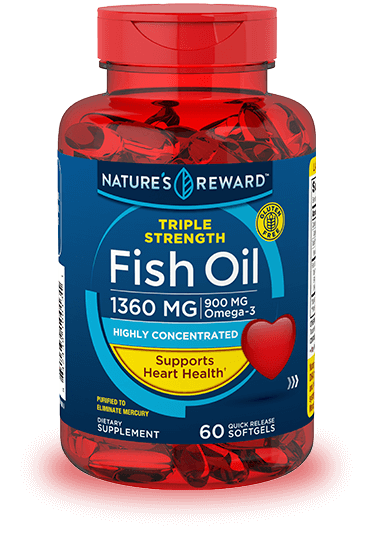 Triple Strength Omega-3 Fish Oil<br>1350 mg