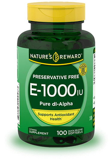 Vitamin E-1000 IU Pure dl-Alpha