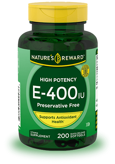 High Potency Vitamin E-400 IU