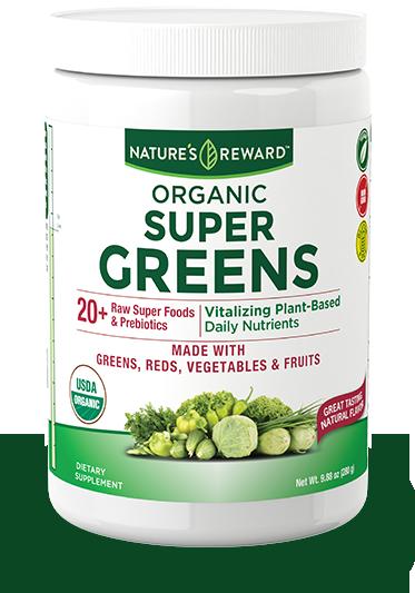 Organic Daily Super Greens Powder