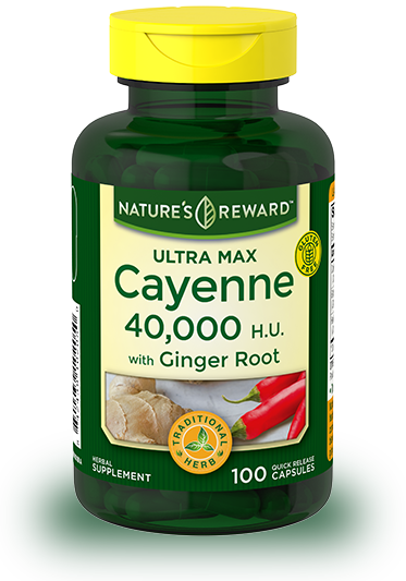 Ultra Max Cayenne with Ginger Root