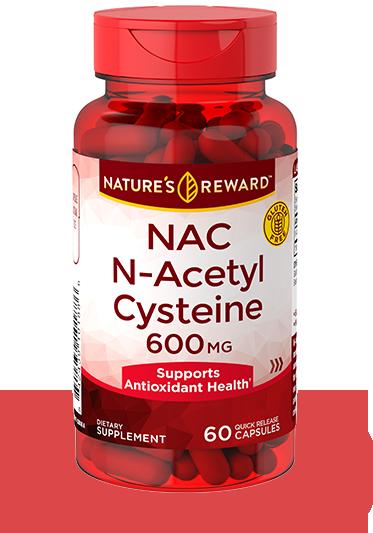 N-Acetyl Cysteine 600 mg (NAC)