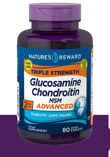 Triple Strength Glucosamine Chondroitin MSM Advanced