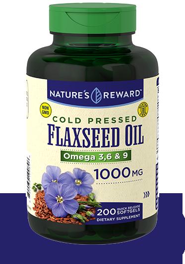 Flaxseed Oil 1000 mg