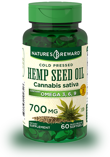 Hemp Seed Oil 700 mg
