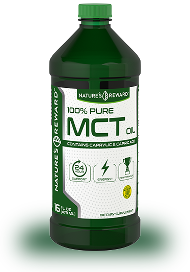 100% Pure MCT Liquid 16 fl. oz.