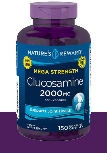Mega Strength Glucosamine 2000 MG